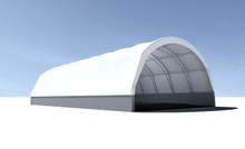 TrussMax Standard-Tension Fabric Structure - 40', 48', 60' W