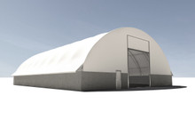 TrussMax Wide -Tension Fabric Structure - 43', 51', 62' W
