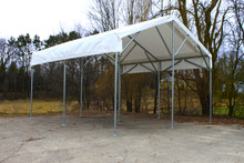 Super Vertex Canopy - Peak Shade Structure System