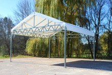W-Truss Canopy - Shade Structure