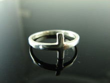 5802 RING SETTING STERLING SILVER CROSS size 5