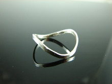6022 Thumb Ring Setting Sterling Silver Size 8