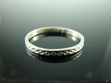 5939 Ring Band Setting Sterling Silver Size 9.75