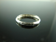5915 Ring Band Setting Sterling Silver Size 7