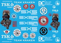 TSK-B/SX5 Decal Sticker Sheet
