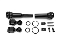 CVD Rear Driveshaft System with metal retainer rigs