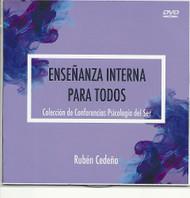 DVD ENSEÑANZA INTERNA PARA TODOS - RUBÉN CEDEÑO (VIDEO CONFERENCIA)