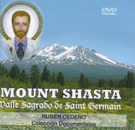 DVD MOUNT SHASTA VALLE SAGRADO DE SAINT GERMAIN - RUBÉN CEDEÑO