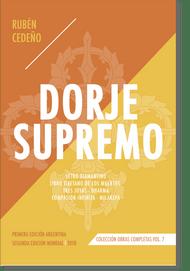 DORJE SUPREMO - RUBÉN CEDEÑO (LIBRO) 2A EDICIÓN MUNDIAL