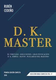 D. K. MASTER - RUBÉN CEDEÑO (LIBRO)