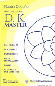 D.K. MASTER - RUBÉN CEDEÑO (LIBRO)