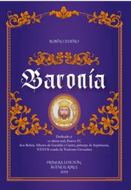 BARONÍA - RUBÉN CEDEÑO (LIBRO)