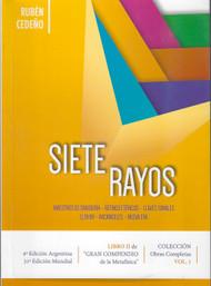 SIETE RAYOS - RUBÉN CEDEÑO -LIBRO-