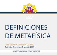 DVD DEFINICIONES DE METAFÍSICA - RUBÉN CEDEÑO (CONFERENCIA)