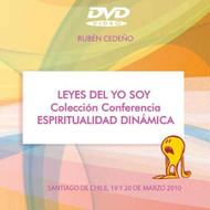 DVD LEYES DEL YO SOY (ESPIRITUALIDAD DINÁMICA) - RUBÉN CEDEÑO (CONFERENCIA)