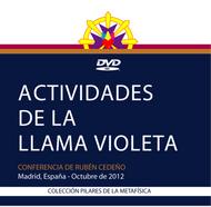 DVD ACTIVIDADES DE LA LLAMA VIOLETA - RUBÉN CEDEÑO (CONFERENCIA)