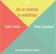 DVD PODER ESPIRITUAL (ASÍ SE VIVENCIA LA METAFÍSICA) - RUBÉN CEDEÑO (CONFERENCIA)
