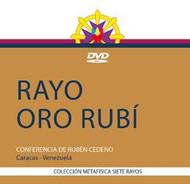 DVD RAYO ORO RUBÍ - RUBÉN CEDEÑO (CONFERENCIA)