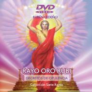 DVD RAYO ORO RUBÍ (ANIMACIÓN VISUAL DE LA LLAMA Y DECRETOS)
