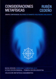 CONSIDERACIONES METAFÍSICAS - RUBÉN CEDEÑO (LIBRO)