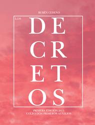 LOS DECRETOS - RUBÉN CEDEÑO (LIBRO)