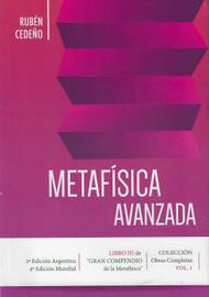 METAFISICA AVANZADA - RUBÉN CEDEÑO (LIBRO)