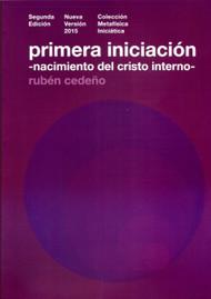PRIMERA INICIACIÓN - RUBÉN CEDEÑO (LIBRO)
