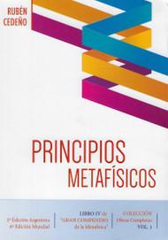 PRINCIPIOS METAFÍSICOS - RUBÉN CEDEÑO (LIBRO)