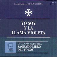 DVD YO SOY Y LA LLAMA VIOLETA- RUBÉN CEDEÑO (CONFERENCIA)