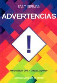 ADVERTENCIAS - SAINT GERMAIN (LIBRO)