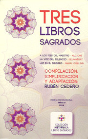 TRES LIBROS SAGRADOS - RUBÉN CEDEÑO (LIBRO)