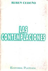 LAS CONTEMPLACIONES - RUBÉN CEDEÑO (LIBRO)