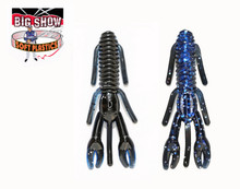 "3.25"" PUNCH BUG - Black/ Blue / silver flk - (8 Pack)"