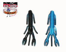 "3.25"" PUNCH BUG - Black / Blue Pearl - (8 Pack)"