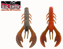 "3.5"" Money Bug Craw - GRN Pumpkin Crawdad  (8Pack)"
