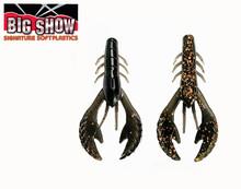 "3.5"" Money Bug Craw -Black Copper Fleck (8Pack)"