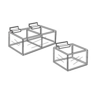 Slatwall CD Bins