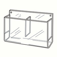 Wallmount Double Brochure Holders