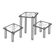 Square Table Display