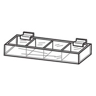 Slatwall Divided Trays