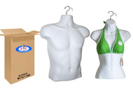 Torso  Male and Female Hanging  Mannequin  Forms    UPC: 022099700500
