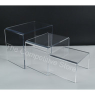 Acrylic Shoe Riser Set Of 3