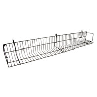 "48"" Gridwall Video / Book Shelf"