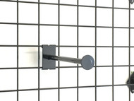 "Gridwall 12"" Round Tubing Faceout With Disc At End"
