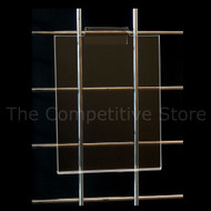 Acrylic Gridwall Vertical Sign Holders