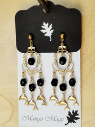 Dolphin Chandelier Earrings