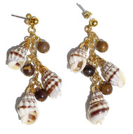 A Forest of Shells Earrings