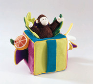 Peek-A-Boo Monkey Play Cube - Retired Folkmanis® Puppet *SALE*