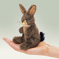Mini Jack Rabbit - Folkmanis® Finger Puppet *SALE*