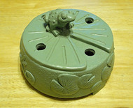 Azenta® Peaceful Frog Burner Cover *SALE*